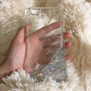 Accessories - Falling Glitter iPhone 6+ Case